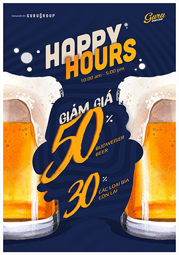 Happy Hour | Guru Sport Bars