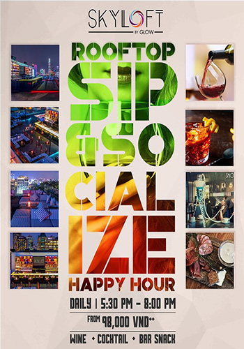 Happy Hour | Skyloft by Glow